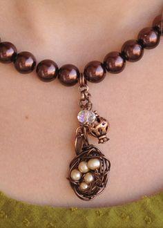 Bird's Nest Chocolate Pearls. thepinkchandelier.com