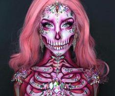 Beautiful Halloween Makeup, Halloween Makeup Looks, Halloween Make Up, Unicorn Halloween, Halloween Skull Makeup, Halloween Costumes, Vampire Costumes, Halloween Inspo, Pirate Costumes