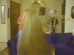 Long Hair: Cindy Christian slow motion