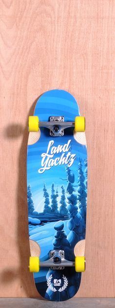 """The Landyachtz Ripple Ridge Longboard Complete is designed for Cruising, Carving and Freeride. Ships fully assembled and ready to skate! Function: Cruising, Carving, Freeride Features: Concave, Rocker, Ripples, Wheel Wells, Kicktail, Upturned Nose Material: 8 Ply Maple Length: 33.75"""" Width: 9.56"""" Wheelbase: 18.4"""" Thickness: 1/2"""" Hole Pattern: Old School Grip: Black"""