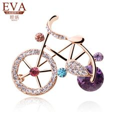 Find More Brooches Information about New 2014 18K Rose Gold Plated Zircon…