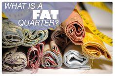Cold Hands Warm Heart: Fat quarters explained
