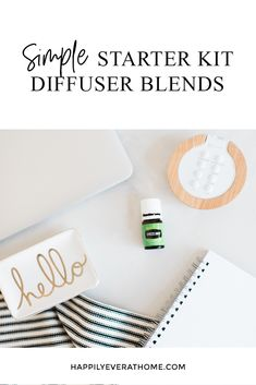 11 Starter Kit Diffuser Blends for Young Living Members // Just purchased a Premium Starter Kit? Check out these diffuser blends using Premium Starter Kit oils! Essential Oil Starter Kit, Are Essential Oils Safe, Essential Oil Diffuser Blends, Young Living Essential Oils, Young Living Diffuser, Easy Starters, Diffuser Recipes, Pineapple Room, Simple
