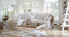 Sofa New Haven und Couchtisch Lexington #Wohnzimmer #loberon