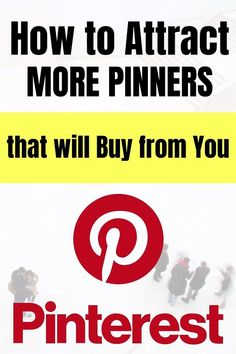Vanity metrics such as Pinterest followers will only get you so far. In reality, you can make more sales with a smaller audience of highly targeted buyers. Find out how to attract pinterest followers that buy from you in this video series. CLICK BELOW to SEE MORE.