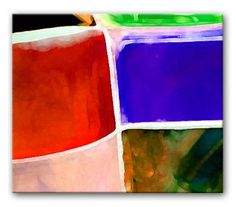 STAINED GLASS EFFECT - LANDSCAPE modern abstract painting, fully hand painted abstract canvas artwork framed gallery-wrap style and ready to hang with Free Delivery and fully guaranteed Canvas Painting Landscape, Canvas Paintings, Abstract Canvas, Modern Canvas Art, Stained Glass, Hand Painted, Paintings On Canvas, Canvas Art Paintings, Painted Canvas