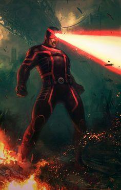 Cyclops Fan Art by Memed
