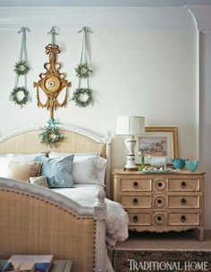 Holiday Rooms in Blue and White | Traditional Home
