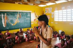 """It only takes one teacher to change a child's life forever. Every child deserves that chance. """"One child, one teacher, one book and one pen can change the world."""" —Malala Reposted Via Education For All, Story House, Child Life, Red Cross, News Stories, Non Profit, Teacher Appreciation, Change The World, Photo And Video"""