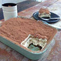 Low carb tiramisu - to die for!! #lchf