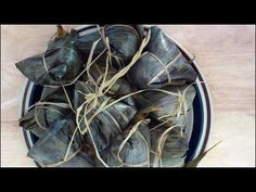 The making of Bak Chang - Glutinous Rice Dumplings (咸肉粽子) - YouTube