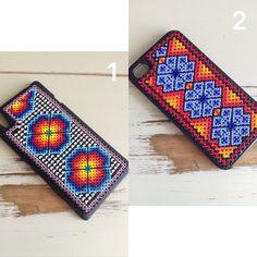 Caso de Huichol iphone - iphone caso Huichol - hecho a mano - arte - Smartphone