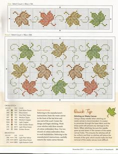 Cross Stitch & NeedleWork 11 2014