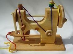 @Natalie Ferguson (for millie!) wooden sewing machine