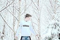 Oskar w śniegu  Fot: Dorota Gąsior