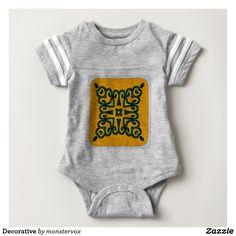Decorative Baby Bodysuit #Decorative #Ornament #Design #Fashion #Shirt #Tshirt #Tee
