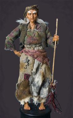 The Witch (Baba Yaga) - The Wild Witch From a Wild Forest    Baba Yaga is a well-known character in the Russian fairy-tales;  althouth she is presented as evil and malevolent,  very often she actually helps the hero out of difficult situations!