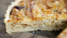 Onion tart recipe : SBS Food