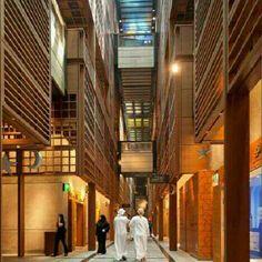 Mercado Central de Abu Dhabi, o The Souk, nos Emirados Árabes Unidos. Projeto do escritório Foster + Partens.  #architecture #arts #arquitetura #arte #decor #decoração #decoration #design #interiores #interior #projetocompartilhar #shareproject #confort #conforto #madeiraeconforto #madeira #wood