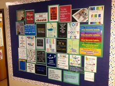 School Counseling Pinterest Quotes Bulletin Board. Love this idea. I tried to keep my board up and visible on my iPad but...