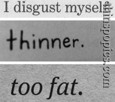 The Real Deal On Eating Disorders. And Thinspo. written for Meets Obsession (originally seen by @Kaleighdgc982 )