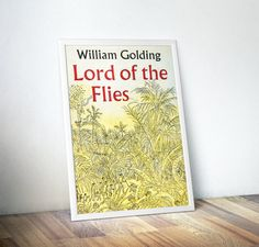 Lord of the Flies Book Lovers Gifts Book by DareToDreamPrints