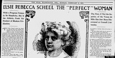 The 'Perfect Woman' In 1912, Elsie Scheel, Was 171 Pounds And Loved Beefsteaks | American culture in 1912 upheld a very different ideal of female physical perfection than the one we see promoted today in the majority of women's magazines, on TV and in movies. | HuffPost Women