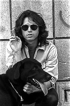 Jim Morrison. Taught me that existentialism can be beautiful and poetic, not just a survival tool.