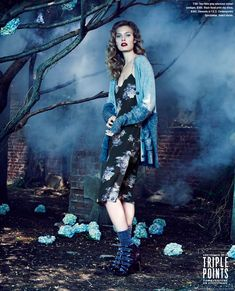 Constance Jablonski by An Le for Bloomingdale's