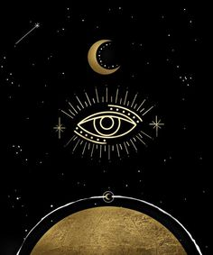 Evil Eye Moon Phase Art Print <br> △ PRODUCT INFORMATION ▽ Look at the universe through the all seeing evil eye. Printed in the USA Archival Heavyweight Paper (Matte) Available with or without white border. Moon Phases Art, Moon Art, Moon Moon, Third Eye Tattoos, Evil Eye Art, Opening Your Third Eye, Eye Illustration, Eyes Artwork, Eyes Wallpaper
