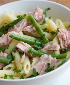 Renal and Diabetic Friendly Pasta Salad Niçoise