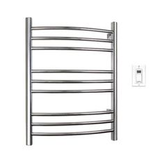 warmlyyours riviera 32 in towel warmer in polished stainless steel tw r09ps