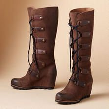 Sorel JOAN OF ARCTIC WEDGE BOOTS @ Sundance Catalog