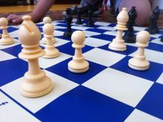 How to teach chess to kids.