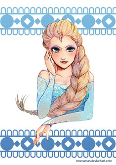 Queen Elsa I fucking love her okay ? My favorite moment of Frozen *-* everything was so perfect I love her transformation so much (Even if I still don't understand how some ice could make a dr. Arendelle Frozen, Frozen Elsa And Anna, Disney Frozen, Frozen Movie, Disney Films, Disney And Dreamworks, Disney Pixar, Disney Fan Art, Disney Love