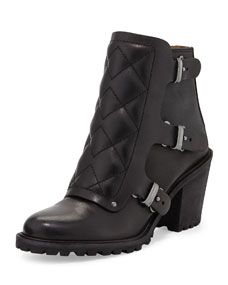Marc by Marc Jacobs Quilted Moto Boot