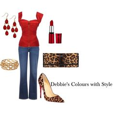 Fire Essence by d-cunningham on Polyvore featuring Levi's, Christian Louboutin, Gucci and Style & Co.