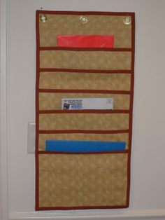 hanging file folder organizer looks easy to make