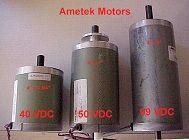 Ametek DC Motors