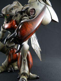 凸+凹 deco to poco: 越智ズワァース 展示中! Gundam, Sculpture Art, Sculptures, Super Robot, Art Model, Creature Design, Plastic Models, Resin Art, Figurative Art