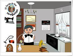 """""""El Juego de los Inventos"""" (Juego de Historia de Primaria) Inventions, Family Guy, Apps, Fictional Characters, Social Science, Games, Activities, History, App"""