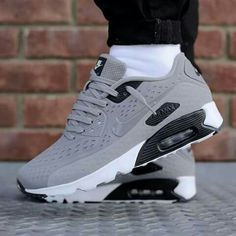 Air Max Grey #Sneakers #Zapatillas
