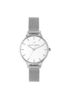 Violet Hamden Nowness Silver Moonlight Silver Moonlight, Mesh, Watches, Silver, Accessories, Wrist Watches, Wristwatches, Money, Tag Watches