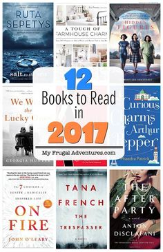 12 Amazing books to inspire, motivate and get lost in 2017.