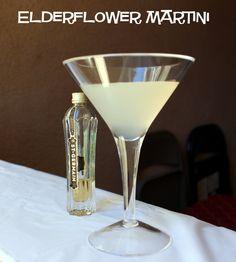 Elderflower Martini recipe - St. Germain's, Bombay Sapphire Gin, Dry Vermouth, Lime http://mixthatdrink.com/elderflower-martini/