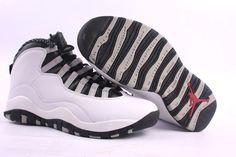 Cheap Jordan Retro 10 For men White Black
