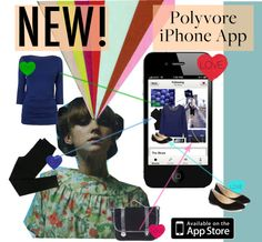 """""""Polyvore has a new iPhone App!"""" by b-rex on Polyvore"""