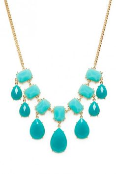 Lafayette Necklace in Teal