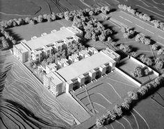Model : Salk Institute for Biological Studies | Louis Kahn