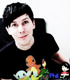 AmazingPhil (gif) < excuse me, but how can anyone not think Phil Lester is attractive??